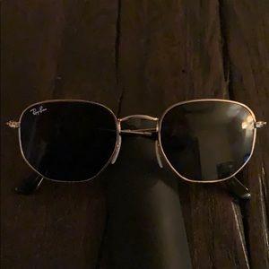 Sunglasses octagonal aviator rayban